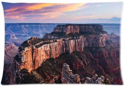Magnifique Taie d'oreiller coton grand canyon de taille standard 50,8 x 76,2 cm (One Side)