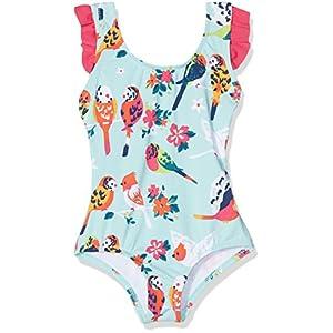Hatley Mädchen Einteiler Bow Back Ruffle Swimsuit