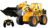 Top Race® 5-Kanal voll funktionstüchtiger Frontlader, elektrische RC Fernbedienung Bautraktor Ferngesteuertes Auto Ferngesteuertes traktor TR-113