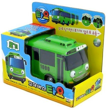 TAYO The Little Bus- ROGI -Corea Hecho TV Animación Infantil Juguete [nave...