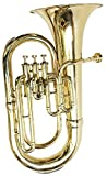Makan Euphonium & Tubas 3 Pistons With Carrying Case Wind Musical Instrument