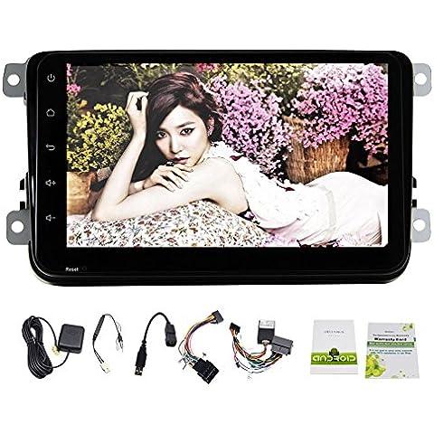 Appena arrivo! 5.1.1 Car NO Lettore DVD Android per VW in Stereo Dash Car Autoradio Bluetooth GPD navigazione Unit¨¤ speciale di Volkswagen con Free Canbus per Magotan / Sagitar / Golf / Bora / Touran / Jetta / POLO