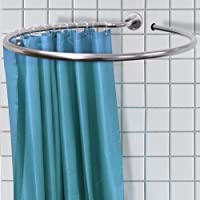 WATSONS BA3250, WATSONS Loop - Circular Round Shower Rail and Curtain Rings Stainless Steel (Home & Garden)