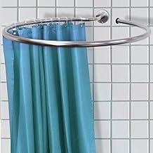 loop anello per appendere la tenda da doccia in acciaio inox circolare e anelli per tende