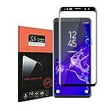 Für Galaxy S9 Schutzfolie,Hallier 9H Härte,Kratzer,Einfaches Anbringen,ÖlBlasen und Fingerabdruck,HD Anti-Panzerglasfolie Displayschutzfolie für Samsung Galaxy S9