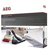 Aeg AKIT13Extension Set Animal Kit, Mattresses & Upholstery Nozzle, Mini Turbo Nozzle (Zertifiziert und Generalüberholt)