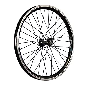 Taylor Wheels 20 pouces roue avant vélo jante à chambre creuse attache rap. noir