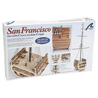 Artesania Latina 20403 Holzmodell Galeone Abschnitt San Francisco 1/50
