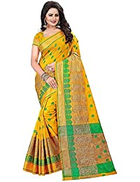Shiroya Brothers Women's Cotton Silk Partywear New Collection Saree With Blouse Piece (new Party Wear,wedding...