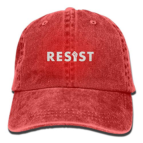 LaTer Resist Hate Fist Mens&Womens Vintage Style Comfortable Sandwich Cap Baseball Cap Womens Vintage-pink Camo