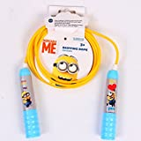 #3: Minion Jump Rope in Head Card Packing for Children of age of 3 years onwards | Imported Premium Quality | Certified Safe as per European Safety Standards (EN71) | Sports development toys for Kids | Blue & Yellow Color | Includes 1 attractive Character print Skipping Rope
