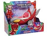 JP PJ Masks JP Super Pigiamini Veicolo giocattolo Turbo Blast di Gufetta