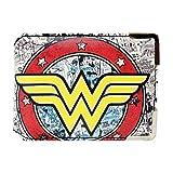 DC 80A325 Wonder Woman Tarjetero/Mini Monedero/Tarjetero para Tarjeta de Transporte.