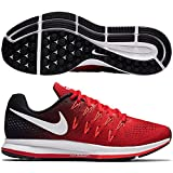 Nike Men's Air Zoom Pegasus 33, UNIVERSITY RED/WHITE-BLACK - 6 D(M) US