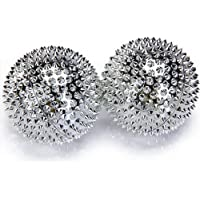1 Paar magnetische Akupressurkugeln in silber mittelgroß preisvergleich bei billige-tabletten.eu