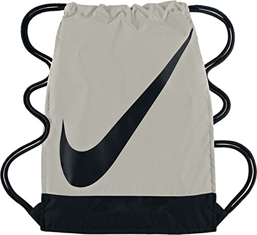 Imagen de nike fútbol 3.0gymsack gris/negro cordón bolsa de deporte  gimnasio saco de fútbol nuevo