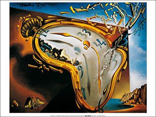1art1 35253 Salvador Dali - Die Weichen Uhren Poster Kunstdruck 70 x 50 cm -