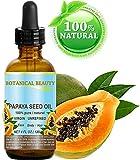 Olio di semi di Papaya Wild crescita. 100% puro/naturale/non diluito vergine/non raffinato pressato a freddo. Per pelle, capelli, labbra e cura delle unghie 4fl. oz-120ml.