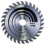 Bosch Zubehör 2608640583 Kreissägeblatt Optiline Wood 130 x 20/16 x 2,4 mm, 30