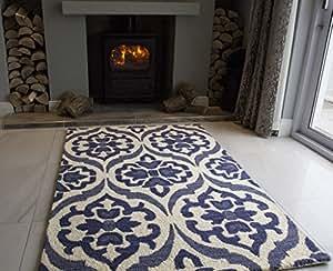 Tappeti di lusso Sofia, motivo damascato, in lana, colore ...
