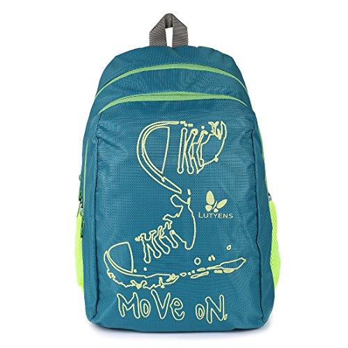 Lutyens Polyester Green Lime School Bags (17 Liters) (Lutyens_197)