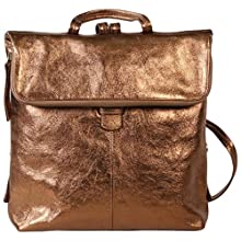 Clairefontaine 'Emalia' Leather Backpack, 34 x 30 x 8cm