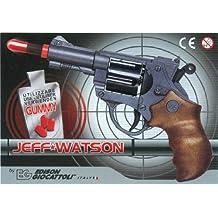 Edison Giocattoli 045921 Jeff Watson - Pistola de juguete (19 cm)