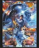 Poster Star Wars - 30. Jubiläum, alle Figuren - Größe 40 x 50 cm - Miniposter