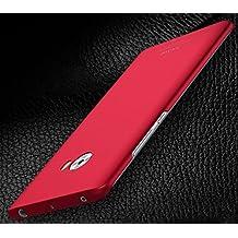 PREVOA Xiaomi Mi Note 2 - Plastico Duro Funda Cover Case Protictive para Xiaomi Mi Note 2 Smartphone - Rojo