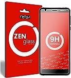 nandu I ZenGlass [2 Stück] Flexible Glas-Folie für Nokia 3.1 Panzerfolie I Bildschirm-Schutzfolie 9H I (Kleiner Als Das Gewölbte Bildschirm)