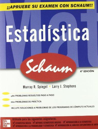 Estadística (Schaum) por Spiegel