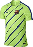 Nike FCB M NK Dry SQD Top SS GX T-shirt FC Barcelona für Herren, Grün (Ghost Green/Game Royal), S