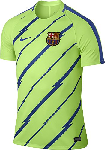 Nike FCB M NK Dry SQD Top SS GX T-Shirt FC Barcelona für Herren ef0fa85fc9b75
