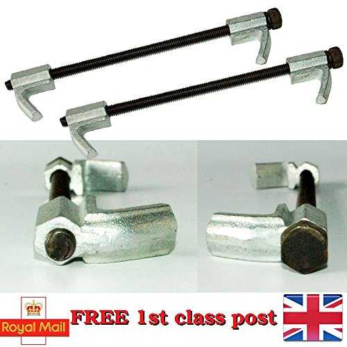 New Coil Spring Compressor Pair of Heavy Duty Professional Suspension 2pc Clamps C2
