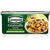 Cassegrain Ratatouille cuisinée à la provencale La boîte de 185g - Prix Unitaire - Livraison Gratuit Sous 3 Jours