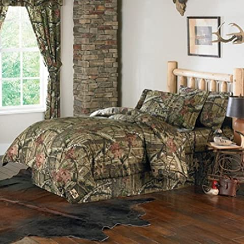 Ufficiale Mossy Oak Mossy Oak Break Up infinity Camouflage comforter set, Twin