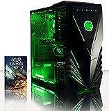 VIBOX Sharp Shooter 27Unità centrale Gaming Neon Verde (AMD Athlon 64fx, 8GB di RAM, 1TB, NVIDIA GeForce GTX 750)