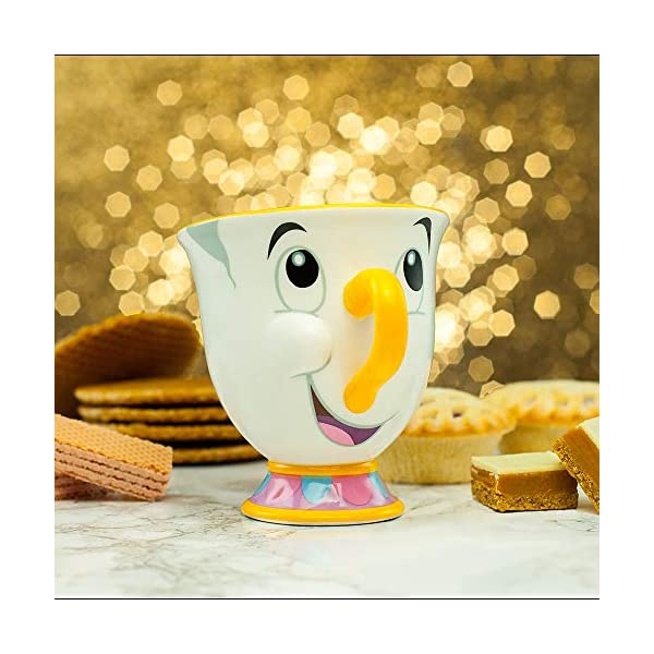 Disney PP3556DP Teiera e Tazza, Porcellana, Multi-Colour, Standard 4 spesavip
