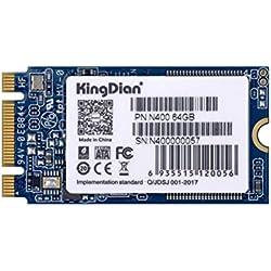 KingDian M.2 2242 Disque SSD Interne NGFF pour PC de Bureau 64 Go