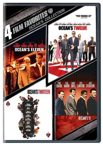 4 Film Favorites: Ocean's Collection (Ocean's 11 (1960), Ocean's Eleven (2001), Ocean's Twelve, Ocean's Thirteen) by George Clo