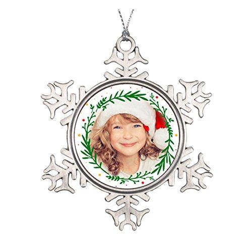 Daily Lady Modern Christmas Kranz Foto Ornament Elegante Waterford Crystal