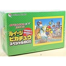 Pokemon juego de cartas XY PAUSA Luigi Pikachu caja especial