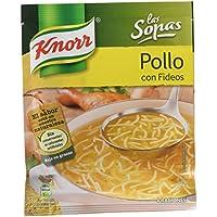 Knorr - Sopa Pollo Fideos 63 g - [Pack de 19]