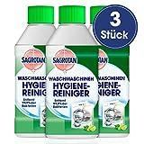 Sagrotan Waschmaschinen Hygiene-Reiniger (Maschinenreiniger für eine hygienische Waschmaschine) 3 x 250 ml Reiniger im praktischen Vorteilspack