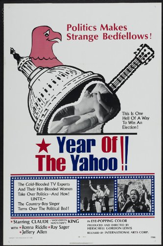 Year of the Yahoo Plakat Movie Poster (27 x 40 Inches - 69cm x 102cm) (1972)