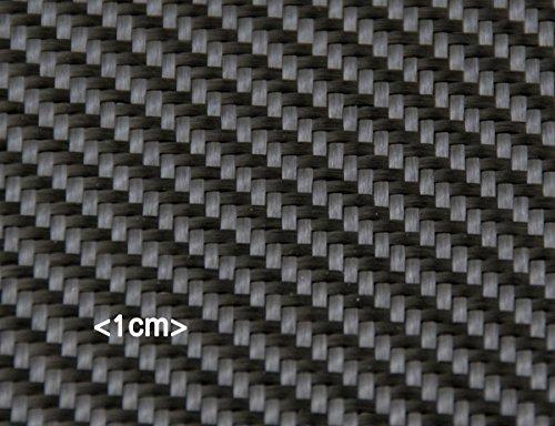Carbongewebe 245g -Köper- schiebeverfestigt 120cm breit -