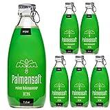 PALMENSAFT KOKOSWASSER | höchste Qualität | 6x250ml Glasflasche | 1500ml | Erstklassig | wie eine Trinkkokosnuss in der Flasche (6x250ml)