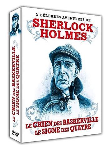 Les plus célébrés enquêtes de sherlock holmes : LE CHIEN DES BASKERVILLE + LE SIGNE DES QUATRE