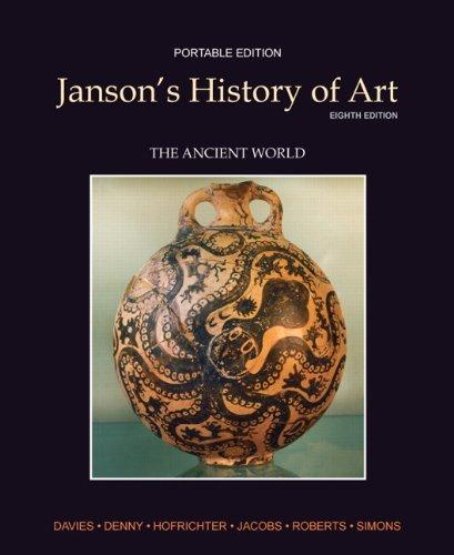 Janson's History of Art Portable Edition Book 1 (Myartslab) by Penelope J.E. Davies (2010-12-27)