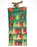 Adventskalender Weihnachten Dekoration Adventszeit zum selber befüllen Filz (Elch)